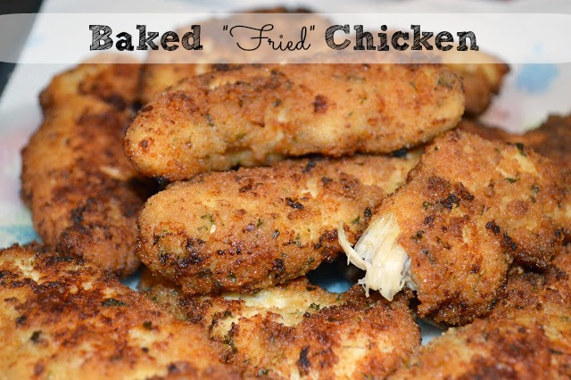 Baked Fried Chicken Tenders