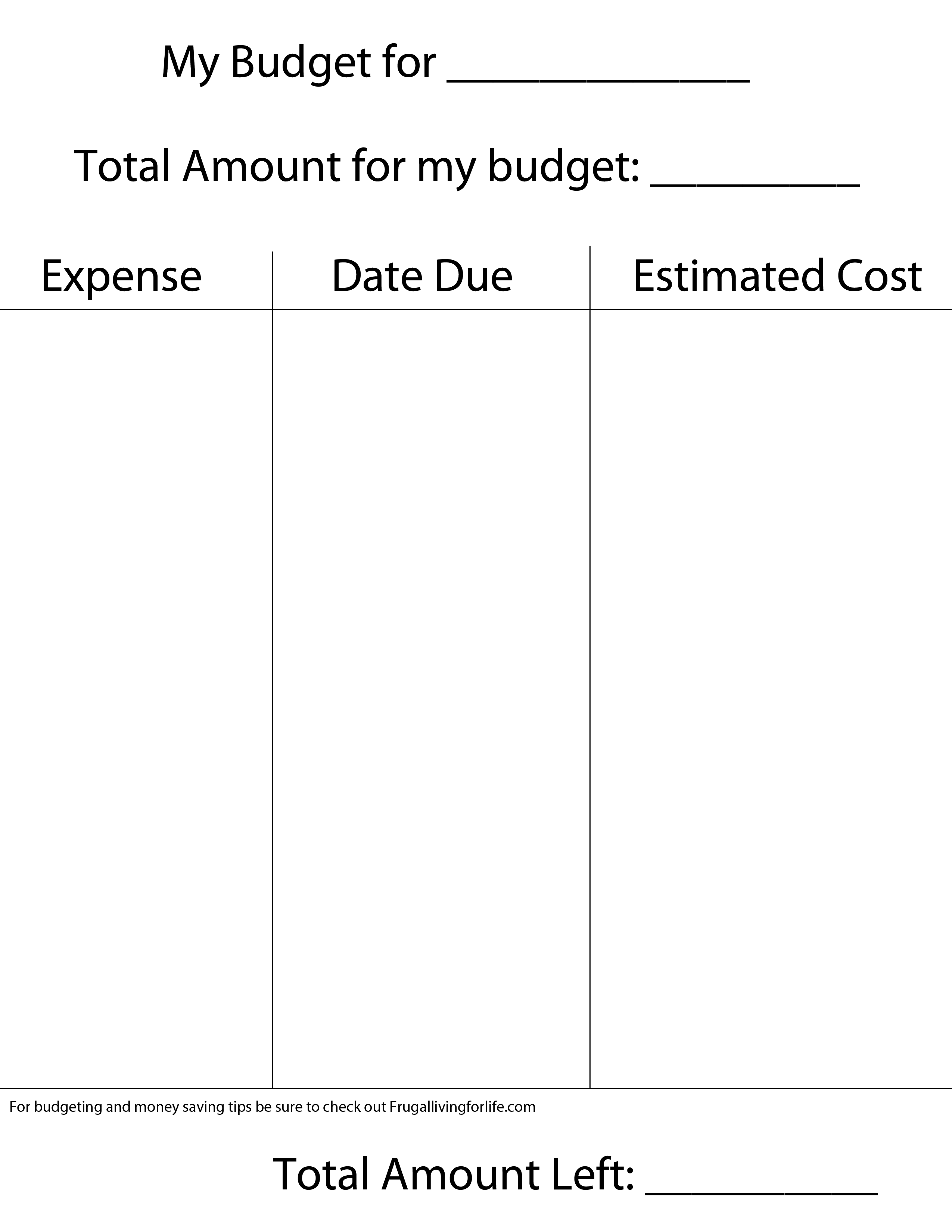 budget-template