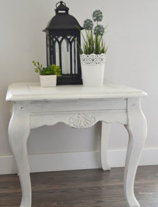 Chalk Painted Table DIY