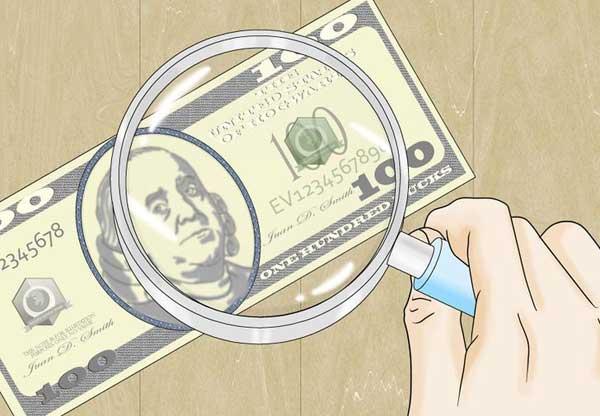 identify money